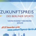 """Jetzt für """"Zukunftspreis 2020"""" bewerben:  LSB Berlin belohnt starke Ideen mit 25.000 Euro"""