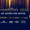 CHAMPIONS 2020: Franziska van Almsick, Robert Harting, ALBA Berlin und Kaweh Niroomand sind DIE BESTEN DER BESTEN